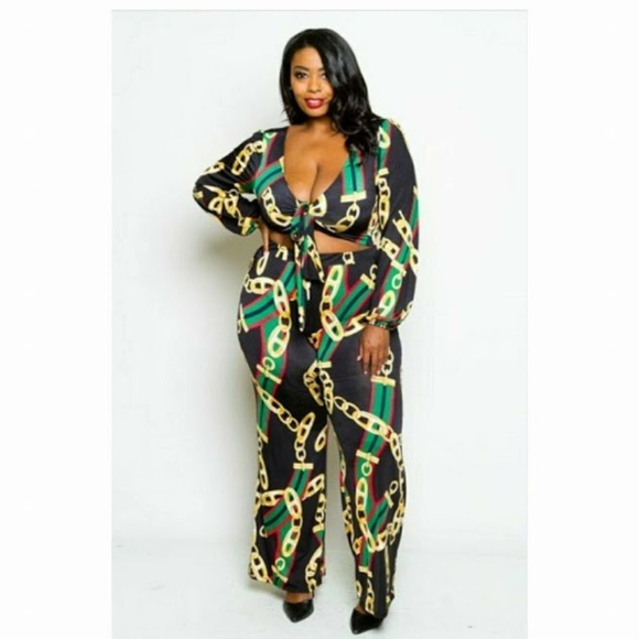 ee901533292b3 gs love Pants - plus size pant set